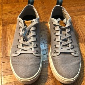 Gray TRVL LITE Toms Lace Up Sneakers
